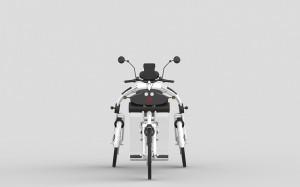 urban2 folding cargo bike white by johanson3
