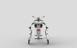 Urban2+ electric cargo bike by johanson3 inventor Johan Neerman