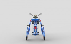 Urban1 cargo commuter bike by johanson3