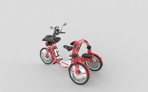 urban2 commuter electric folding bike