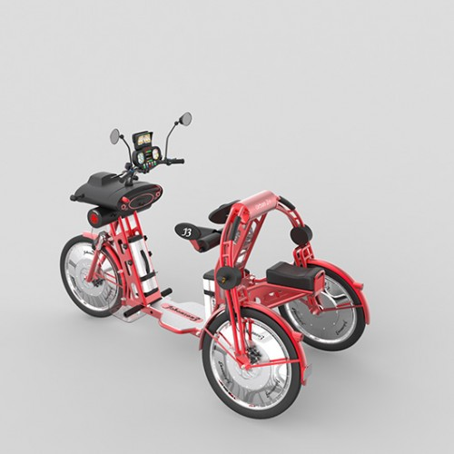 urban2 commuter electric folding bike