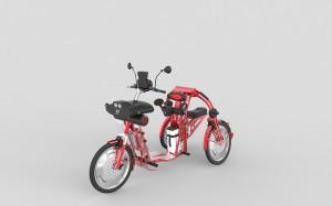 urban2 electric folding cargo bike johanson3 inventor Johanson3