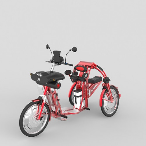 urban2 electric folding cargo bike johanson3 inventor Johanson3