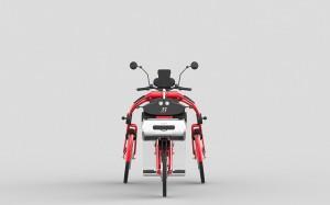 urban2 cargo electric folding bike by Johan Neerman