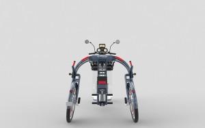 xplorer fast folding electric cargo bike