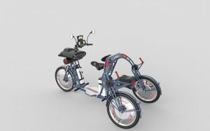X-plorer folding fast electric cargo bike