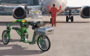airport-aplication-of-the-Johanson3 cargo bikes