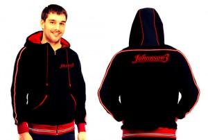 johanson3 black hoodie bike shop