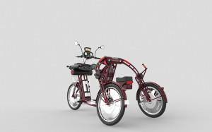 Rhino electric cargo delivery bike by johanson3