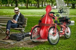 Cargo bikes by johanson3 foldable, dismountable, electric
