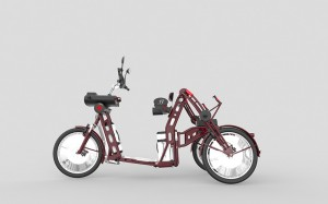electric cargo bike for delivery called rhino johanson3