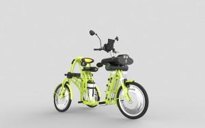 junior electric cargo bike for kids by Johan Neerman