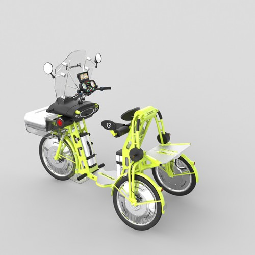 electric scooter by johanson3