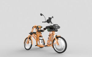 junior electric cargo bikes by Johan Neerman