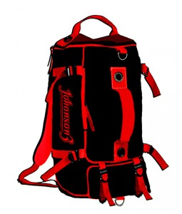johanson3 bag black produced by electric folding vehicle manufacturer company