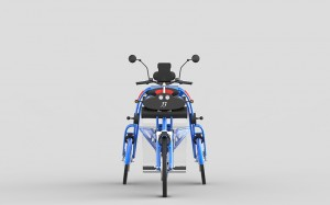 urban2 folding electric cargo bike for commuting