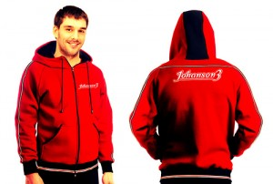 johanson3 hoodie red by electric folding bike manufacturer company
