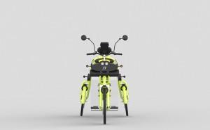 junior folding electric cargo bike by johanson3